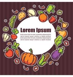 Farm food vector
