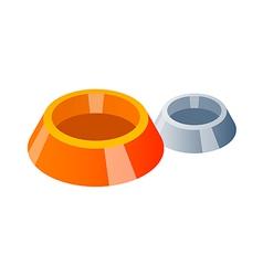 icon dog dish vector image vector image