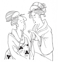 jap vector image