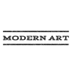 Modern Art Watermark Stamp vector