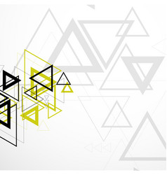modern geometric background vector image