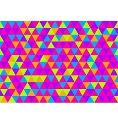 Retro triangle pattern triangle pattern pop vector