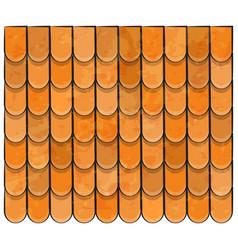 roof tiles texture beautiful banner wallpaper vector image