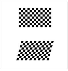 sport flags set vector image
