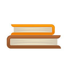 two books in roll vector image