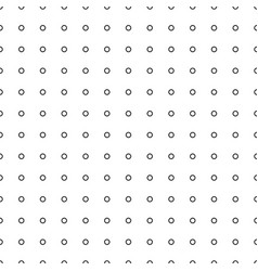 black tiny circle on white background vector image vector image