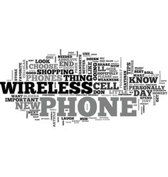 at t wireless phones how to choose the best at t vector image vector image