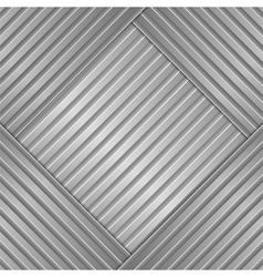 metal striped background vector image