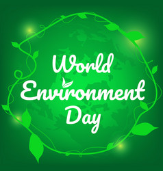 environment day vector image
