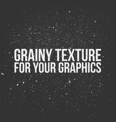 Grainy texture for your graphics vector
