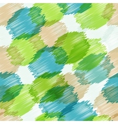 Seamless background pattern with circles vector