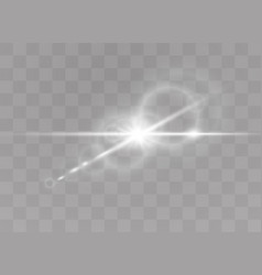 sunlight light effects vector image