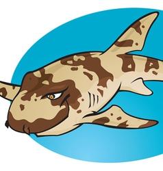 Cartoon Bamboo Shark vector image