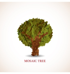 Doodle tree vector image vector image