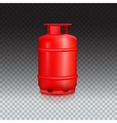 Propane gas balloon vector