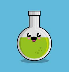 tube test character kawaii vector image