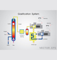 Gasification system vector