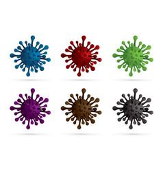 corona virus 2019 cartoon graphic vector image