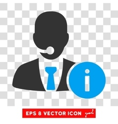 Help desk eps icon vector