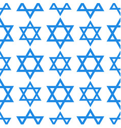 judaism church david star traditional seamless vector image