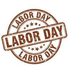 Labor day stamp vector