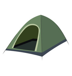 Outdoor camping tent sunshade canopy single item vector