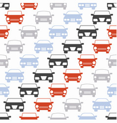 seamless pattern with cars for vector image