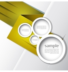 Abstract web design bubble line abstract vector image