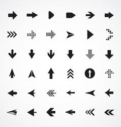 Arrows collection vector image