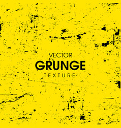 Abstract yellow grunge background design vector