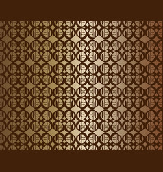 Copper linked background vector
