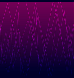 digital pattern with luminous broken vector image