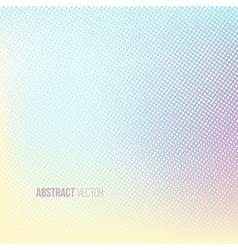 Halftone background Color square shape banner vector image
