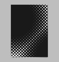 halftone dot pattern page background design vector image