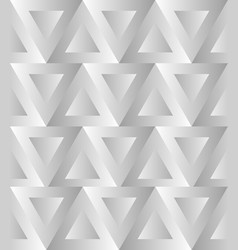 seamless pattern with alternating triangles art vector image