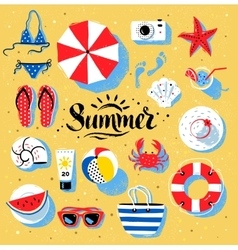 Summertime color vector