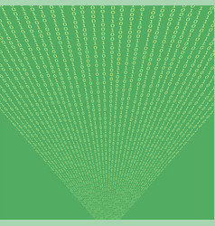 binary code green background vector image