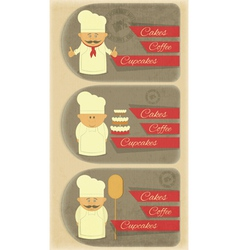 Cover Menu for Bakery vector image vector image