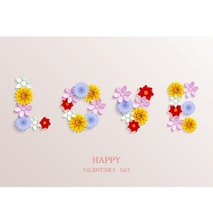 valentines day background Eps10 vector image vector image