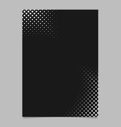 Abstract halftone dot background pattern brochure vector