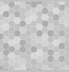 abstract honeycomb pattern geometric background vector image