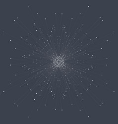Abstract technology visualization vector