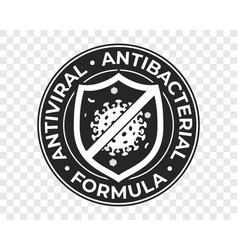 Antibacterial hand gel icon anti bacterial vector