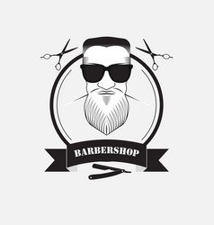barber shop for men vector image