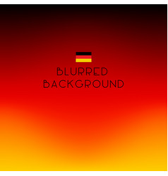 Blurred color germany background vector