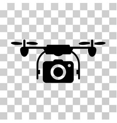 camera drone icon vector image