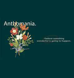 Editable aesthetic floral template blog banner set vector