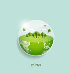 Green Eco Earth vector