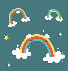 Rainbows vector