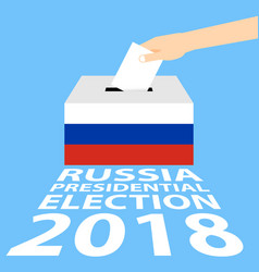 Russian presidential election 2018 vector
